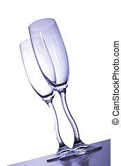香檳酒, 長笛