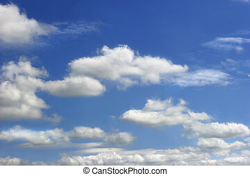 Altocumulus Clouds - Sky and altocumulus clouds