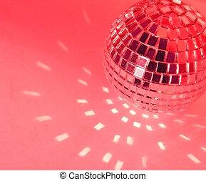 disco ball - gold yellow disco ball