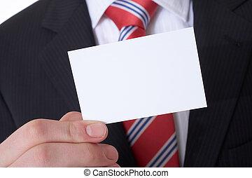 empresa / negocio, tarjeta