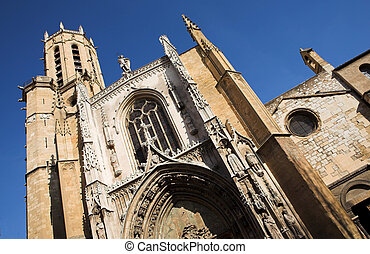 Aix-en-provence#4 - The Cathedrale Sainte Sauveur in...