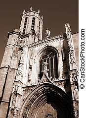 Aix-en-provence #13 - The Cathedrale Sainte Sauveur in...