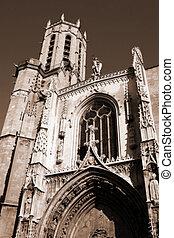 Aix-en-provence #13 - The Cathedrale Sainte Sauveur in...