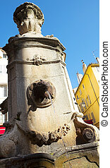 Aix-en-provence #19 - Lion head fountain in Aix-en-Provence,...