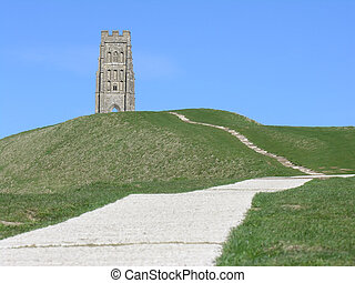 Glastonbury Tor 7 - Glastonbury Tor Somerset England