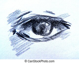 dessiner, yeux