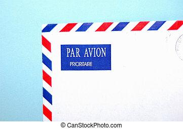 PAR AVION - Stamp Letter