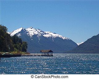 Lake Trufal Patagonia Argentina