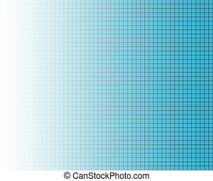 Fine black grid on blue - Black fine grid on blue, fading to...