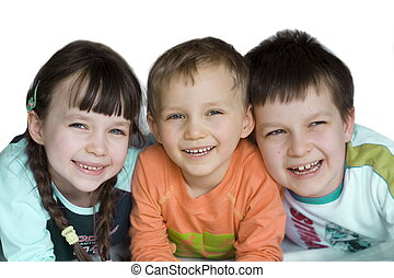 children - sister and brothers