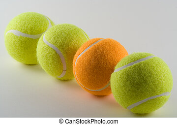 Odd One Out - Odd tennis ball