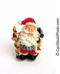 santa, Claus, navidad, decoración