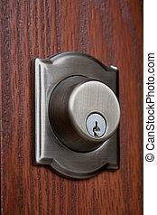 interior lock.