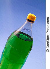 Plastic Bottle - Plastic bottle with refill chemistry