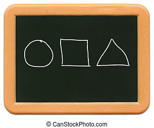 Childs Mini Chalkboard - o2 - Childs mini plastic...