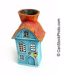 Aroma Decoration House, isolated background