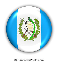 Guatemala Flag - World Flag Button Series - Central...