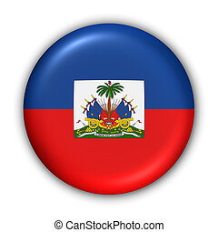 Haiti Flag - World Flag Button Series - Central...