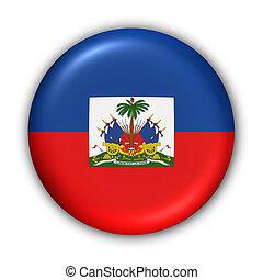 Haiti Flag - World Flag Button Series - Central...