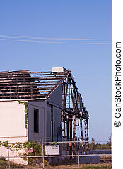 Hurricane Structure Damage