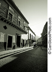 Calle, Guanajuato - Photo of a street in the early morning...