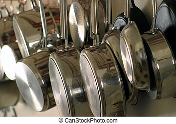 Hanging Pots and Pans 4 - Neat and orderly Residential...