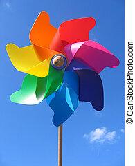 pinwheel - colorful pinwheel