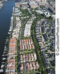 Aerial of Condos - Tampa Condos