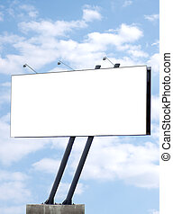 Billboard - Blank billboard, advertisement hoarding...