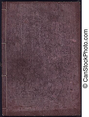 Japanese Book Back Cover - Meiji Period Japanese Book paper...