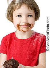 Girl Child Chocolate