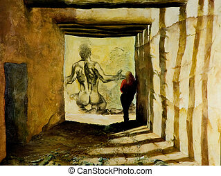 Imagination of tunnel - Fantasy relationship - this is...