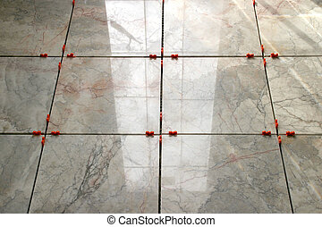 Marble Tiles 5 - New marble floor setting