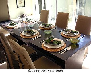 Cenar, habitación