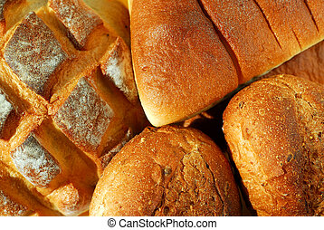 Bread - Assorted bread background