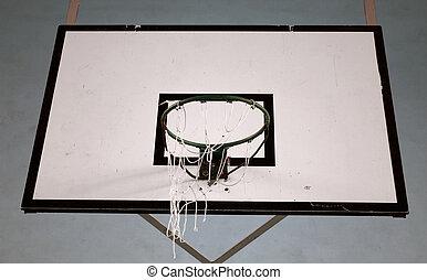 Basketball basket detail