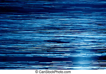 Blue waters horizontal - Water stream texture