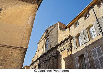 Aix-en-provence 4 - Old building in Aix-en-provence, France...