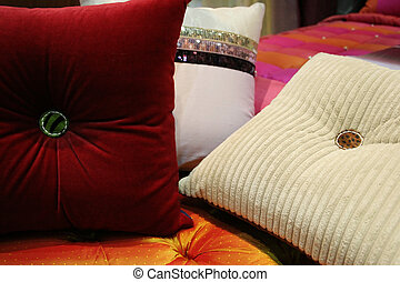 Pillows - Colorful pillows - home interiors