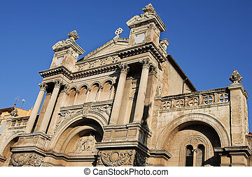 Aix-en-provence 68 - The church of the Madeleine in...