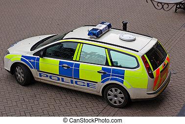 警察, 汽車, 1