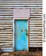 The Doorway - Old Blue Door