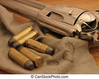 Cowboy Pistol and Ammo
