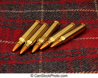 munição,  rifle
