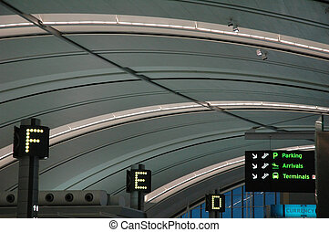 Airport - Toronto pearson airport check in stations