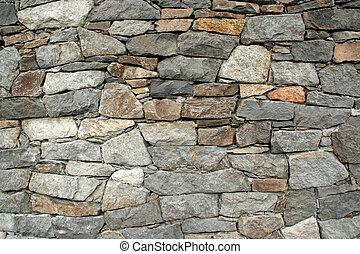 Stone Wall - A rock wall