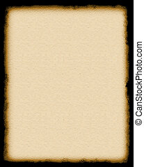 blank page - faux parchment - made in photoshop
