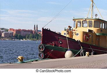 Old Tugboat - Stockholm, Sweden
