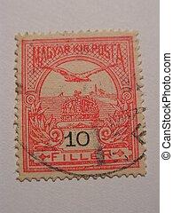 old magyar stamp - old stamp