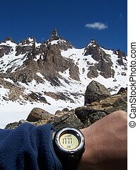 Altitude Check  - Checking Altitude with GPS Watch